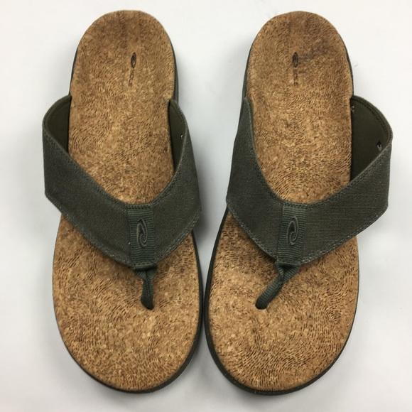 aef68126955 Men s SOLE brand cork flip flops sz 12. M 5ace5038331627a225584224